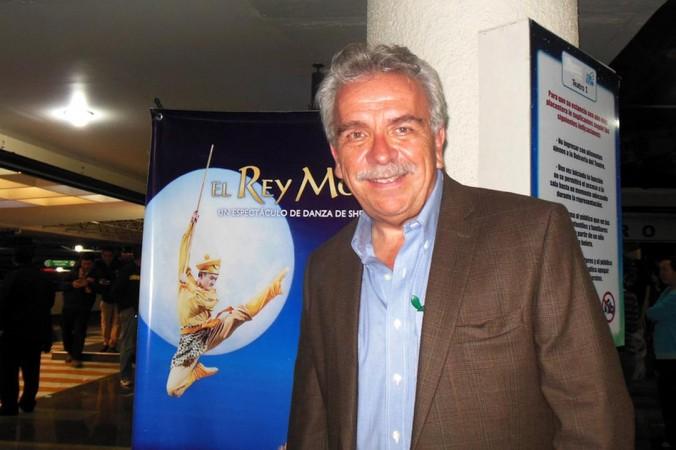 Хосе Элиас Морено, мексиканский актёр и режиссёр, посетил представление «Король обезьян» компании Shen Yun Performing Arts в Centro Cultural Teatro в Мехико. Фото: Sherry Dong/Epoch Times