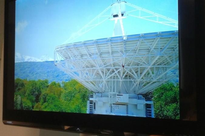 13-метровый радиотелескоп в Зеленчукской обсерватории. Фото: Татьяна Петрова/Великая Эпоха