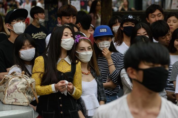 Южная Корея. Фото: ED JONES/AFP/Getty Images
