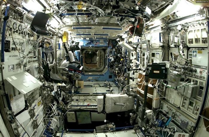 Международная космическая станция. Фото: vremechko.org