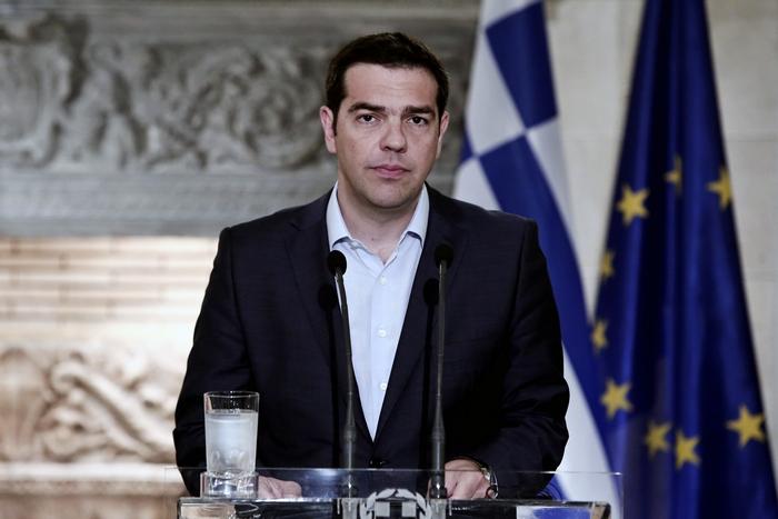 Премьер-министр Греции Алексис Ципрас. Фото: ANGELOS TZORTZINIS/AFP/Getty Images