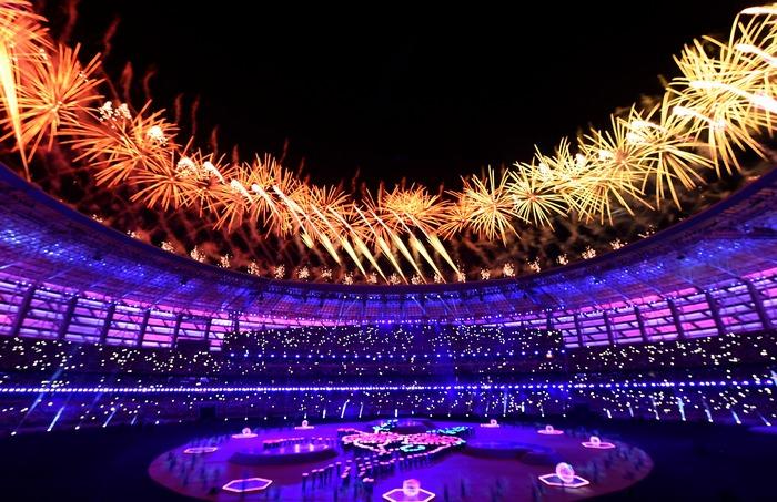 Церемония закрытия Европейских игр. Фото: David Ramos/Getty Images for BEGOC