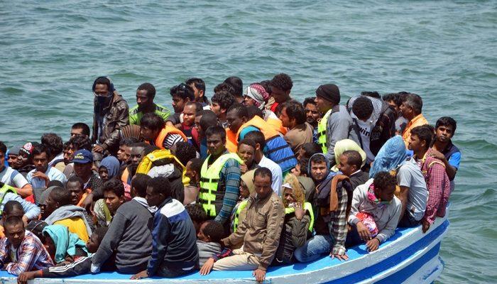 У берегов Ливии затонуло судно с мигрантами