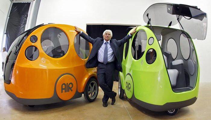 Сжатый воздух в автомобилях заменит бензин