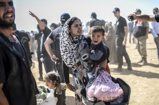 Сирия, ИГИЛ, Турция, беженцы