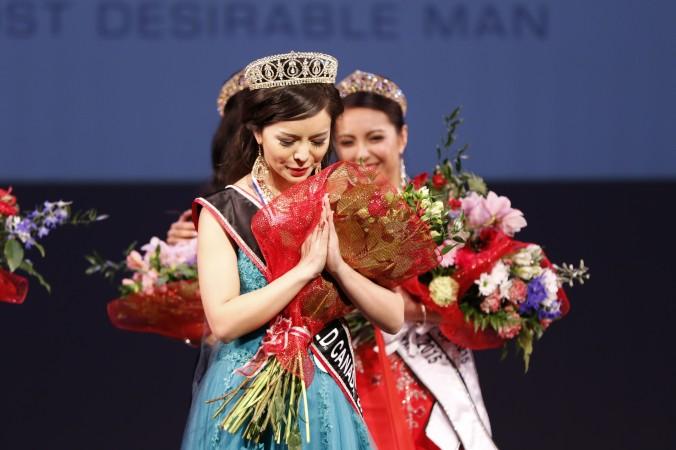 Анастасия Линь из Торонто завоевала титул «Мисс Канада» 16 мая 2015 г. Фото: Andrew Chin