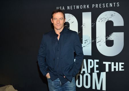 "NEW YORK, NY - FEBRUARY 26:  Actor Jason Isaacs attends ""Dig: Escape The Room"" event at 22 Little West 12th on February 26, 2015 in New York City.  (Photo by Slaven Vlasic/Getty Images)"