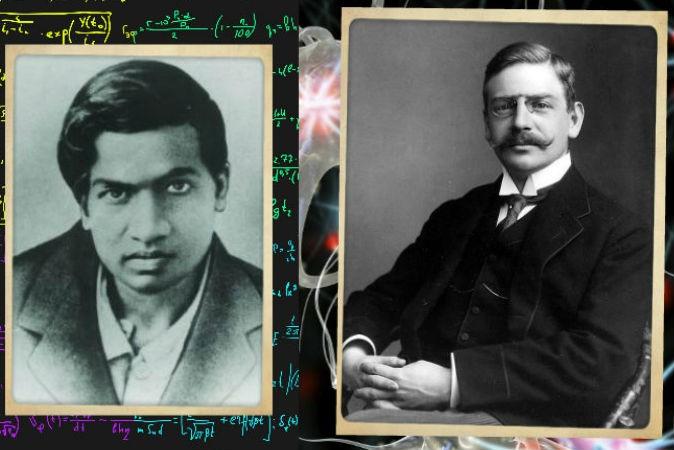 Слева: Сриниваса Рамануджан. Справа: Отто Лёви.