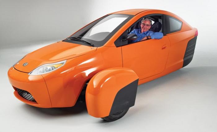Производство трёхколёсного автомобиля начнётся в следующем году