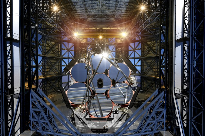 Иллюстрация Гигантского Магелланова телескопа. Фото: Giant Magellan Telescope Organization