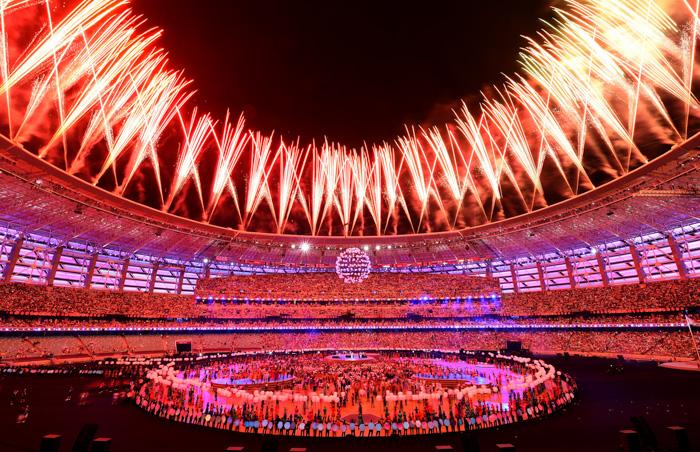 Открытие Европейских игр в Азербайджане