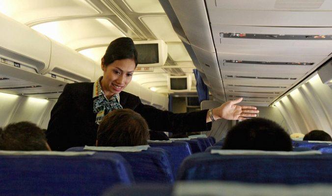 В азиатских авиакомпаниях  самые чистые самолёты и лучший персонал
