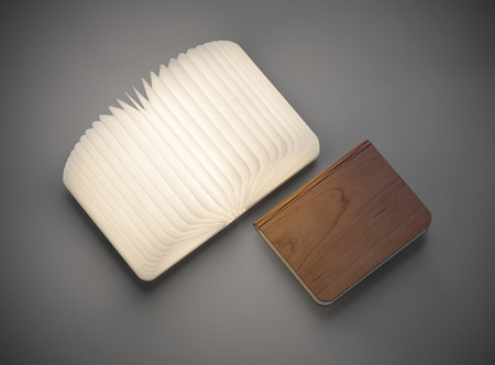 Лампа в виде книги. Фото: goodstartidea.ru