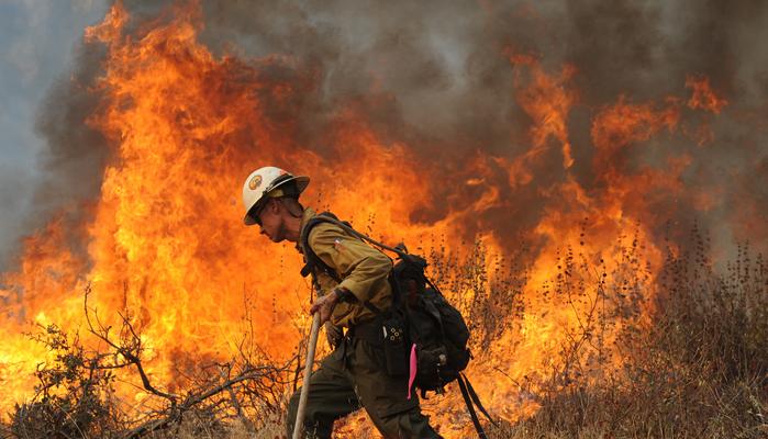 В Бурятии площадь лесных пожаров увеличилась в 15 раз