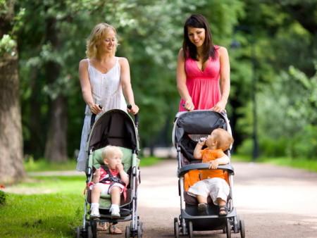 Прогулочные коляски. Фото: my-happyend.ru