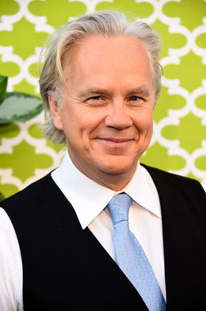 "HOLLYWOOD, CA - JUNE 08:  Actor Tim Robbins, arrives at the Premiere Of HBO's ""The Brink""  at Paramount Studios on June 8, 2015 in Hollywood, California.  (Photo by Frazer Harrison/Getty Images)"