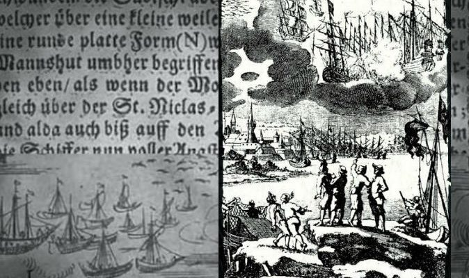 Загадочная битва НЛО в 1665 году