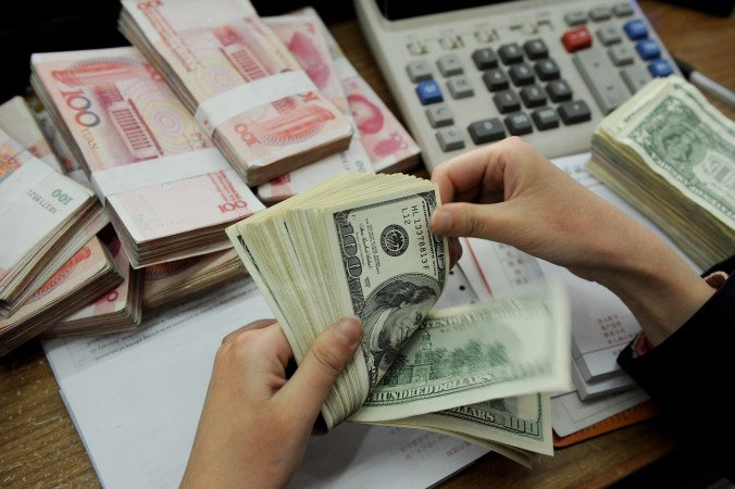 доллар и июань