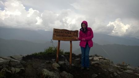 Вершина Вайна-Пикчу высотой 3082 м. Фото: Юлия Эскудеро