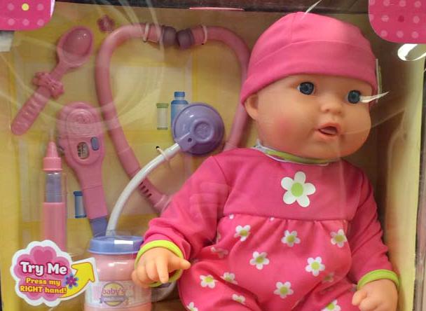 Китайская кукла в упаковке. Фото: Consumer Product Safety Commission