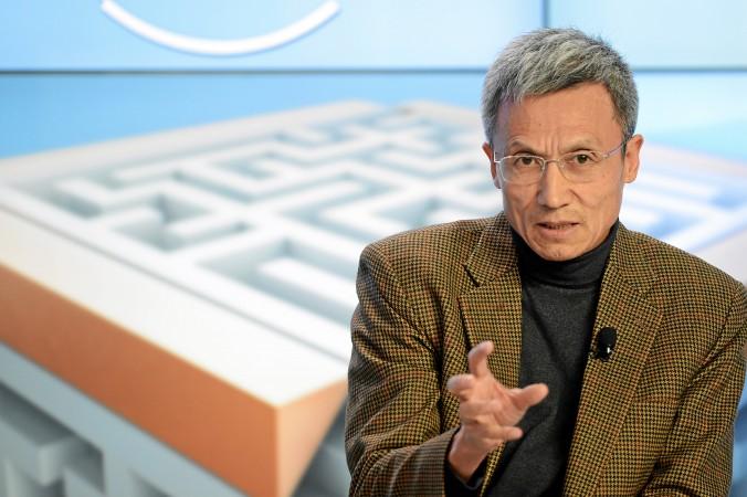 Сюй Сяонянь, профессор экономики и финансов, выступает на Всемирном экономическом форуме в Давосе, Швейцария, 23 января 2013 года. Фото: World Economic Forum/commons.wikimedia.org