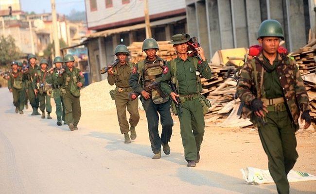 Между армиями Китая и Бирмы произошло боевое столкновение