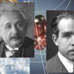 Альберт Эйнштейн и Нильс Бор.