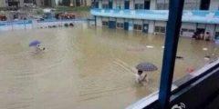 Ливневые дожди затопили центральный и восточный Китай