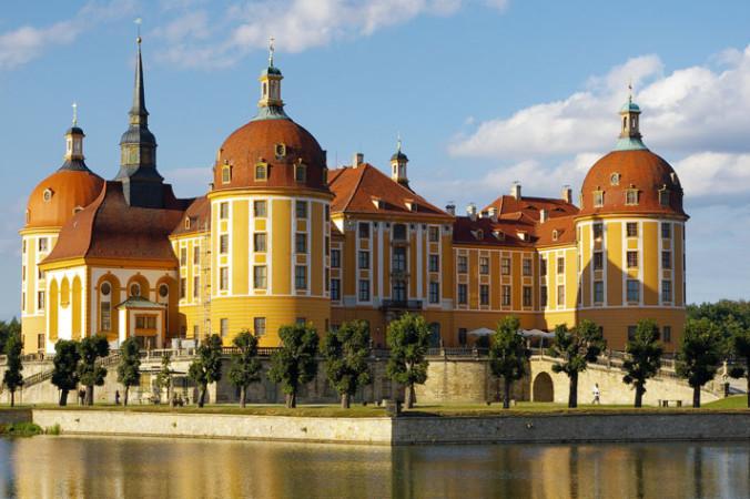 Замок Морицбург. Фото: kora.ochronadrewna