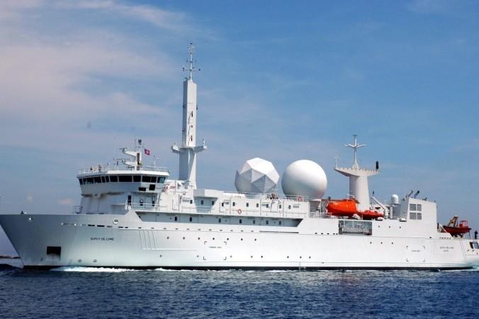 Французский корабль-разведчик вошёл в Чёрное море. Фото: yunews.com.ua