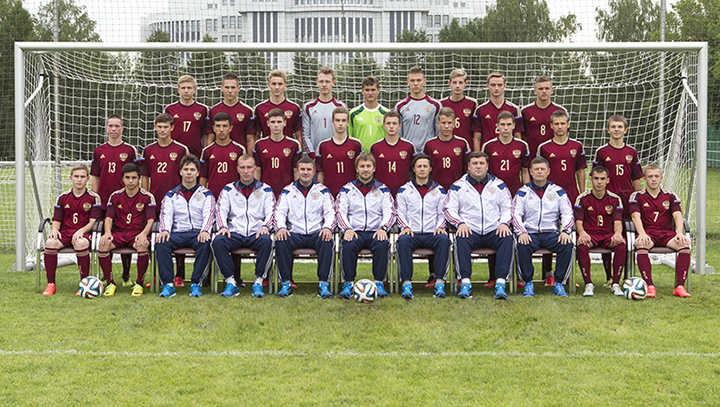 Юношеская сборная РФ по футболу. Фото: rfs.ru