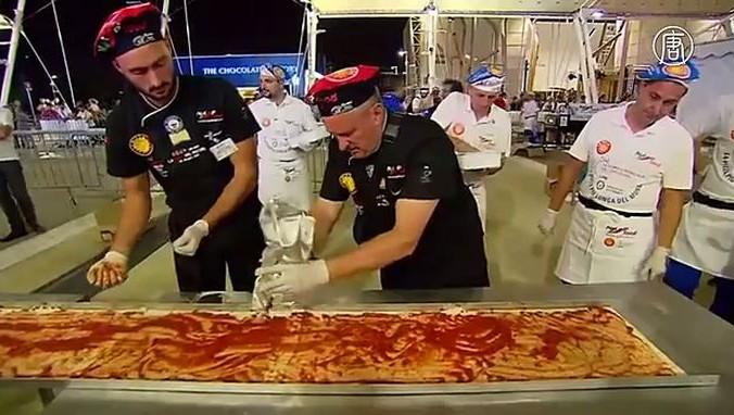 Италия, Милан, пицца