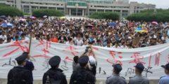 Масштабные протесты против строительства химического завода прошли в Шанхае