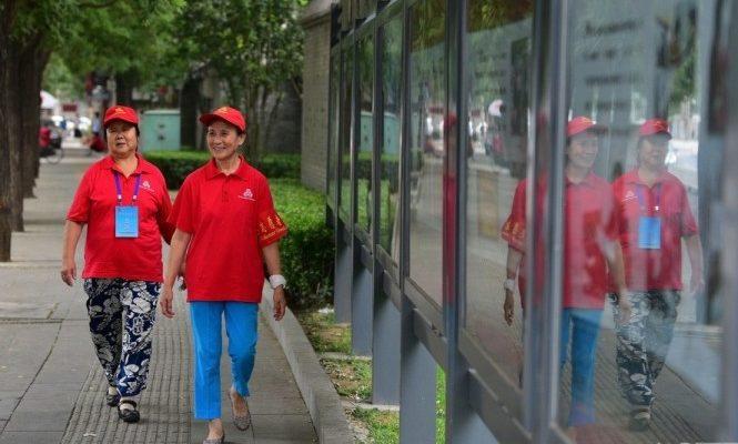 В Китае есть армия бабушек-шпионок
