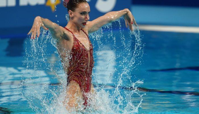 Синхронистка Ищенко завоевала «золото» в сольной программе