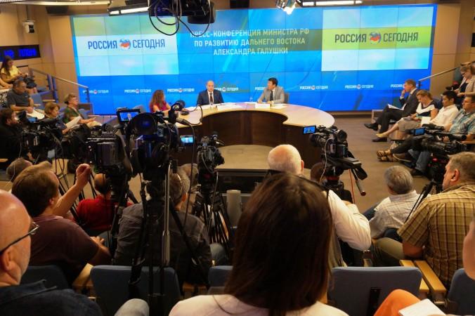 Министр по развитию Дальнего Востока Александр Галушка. Фото: Ульяна Ким/Великая Эпоха