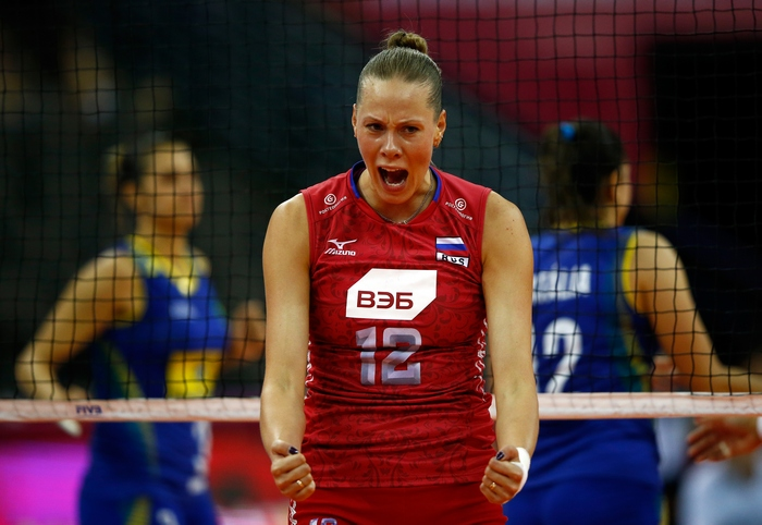Екатерина Орлова. Фото: Jamie Squire/Getty Images for FIVB