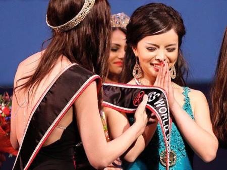 Жительница Торонто Анастасия Линь победила в конкурсе «Мисс Канада» 16 мая 2015 г. Фото: Andrew Chin