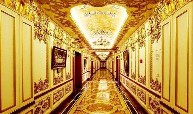 Государственная компания в Китае оформила офис в стиле Версаля