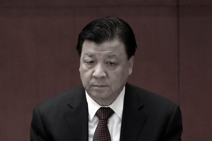 Лю Юньшань, член центрального комитета Политбюро, посещает заключительную сессию Всекитайского собрания народных представителей в Пекине, 14 ноября 2012 г. Фото: Feng Li/Getty Images