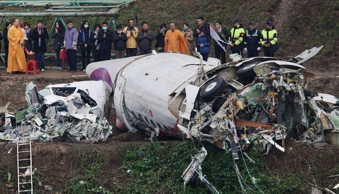 Пилот разбившегося на Тайване самолёта перепутал двигатели (видео)