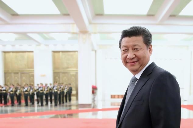 Председатель КНР Си Цзиньпин, 25 марта 2015 года. Фото: Feng Li/Getty Images