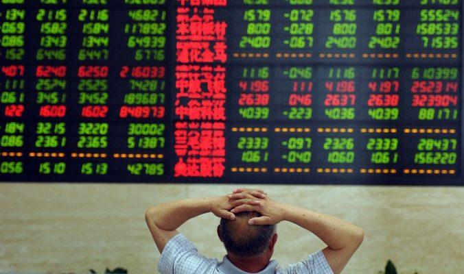 Китайская фондовая биржа может предрешить судьбу компартии