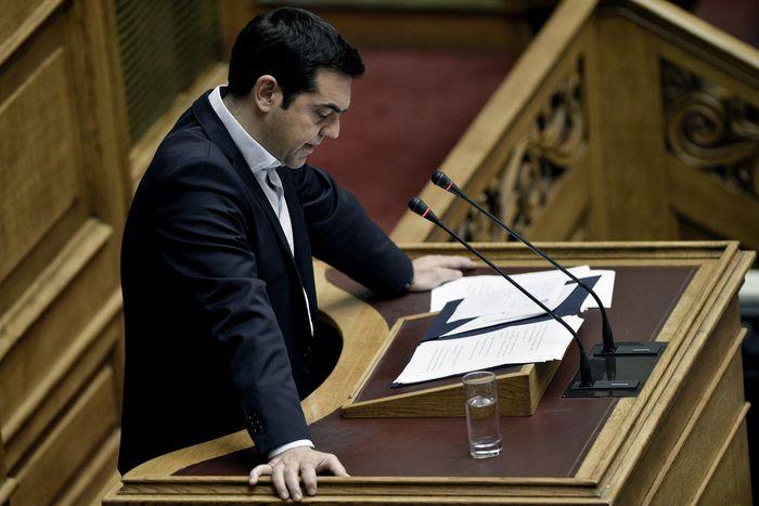 Алексис Ципрас, премьер-министр Греции. Фото: ANGELOS TZORTZINIS/AFP/Getty Images