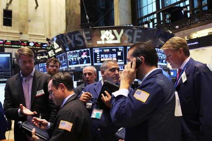 Нью-Йоркская фондовая биржа (NYSE). 8 июля из-за помех на бирже торги были прекращены на четыре часа. Организация «Анонимус» считает, что за этим стояли китайские власти. Фото: Spencer Platt/Getty Images