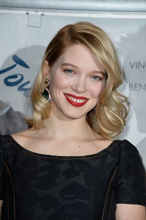 PARIS, FRANCE - MARCH 23:  Lea Seydoux  attends the Paris Premiere of  'Journal D'Une Femme De Chambre' At MK2 Bibliotheque on March 23, 2015 in Paris, France.  (Photo by Pascal Le Segretain/Getty Images)