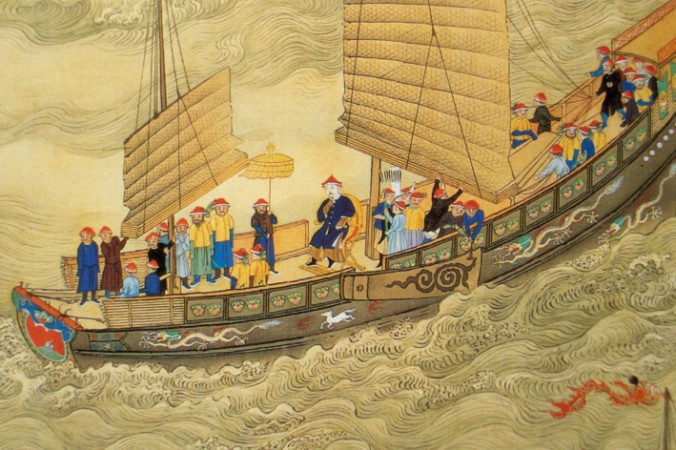Император Канси в походе. Китай. Фото: Wikimedia Commons