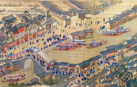 Деталь картины о втором «южном походе» императора Канси в 1689 году (Wikimedia Commons)