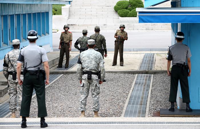 Южная Корея, Северная Корея, США, перемирие