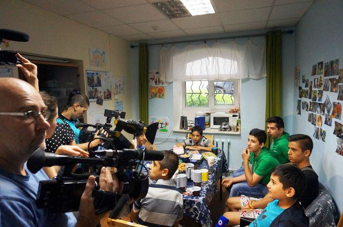 В Московском центре адаптации и обучения детей беженцев. Фото: Ульяна Ким/Великая Эпоха